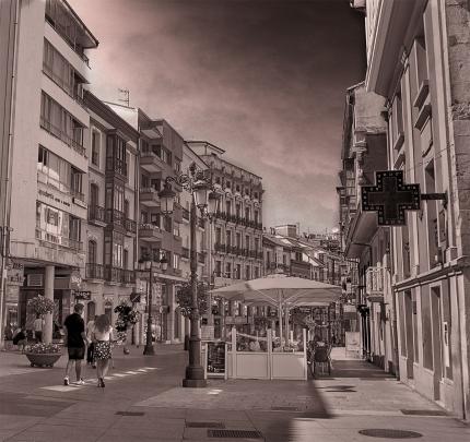 Avenue in Avilés