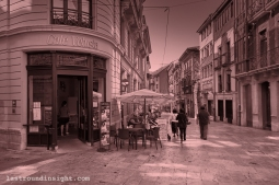 A Café in the land of La Regenta, Oviedo