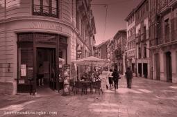 A Café in the land of La Regenta, Oviedo