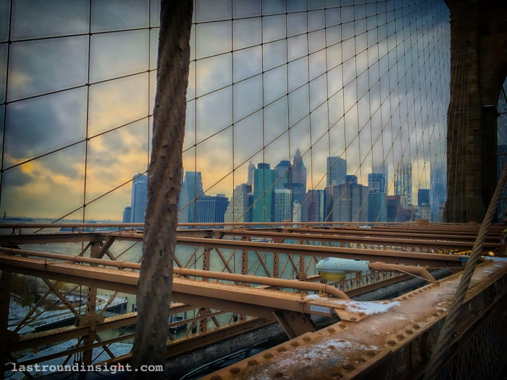 Manhattan from the Brooklyn Bridge