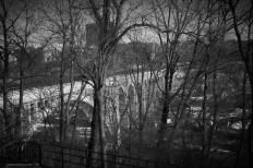 High Bridge, Highbridge Park, New York City. Nikon D90