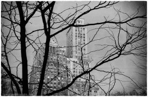City on film - Kodak TMAX 400. New York City - 2016